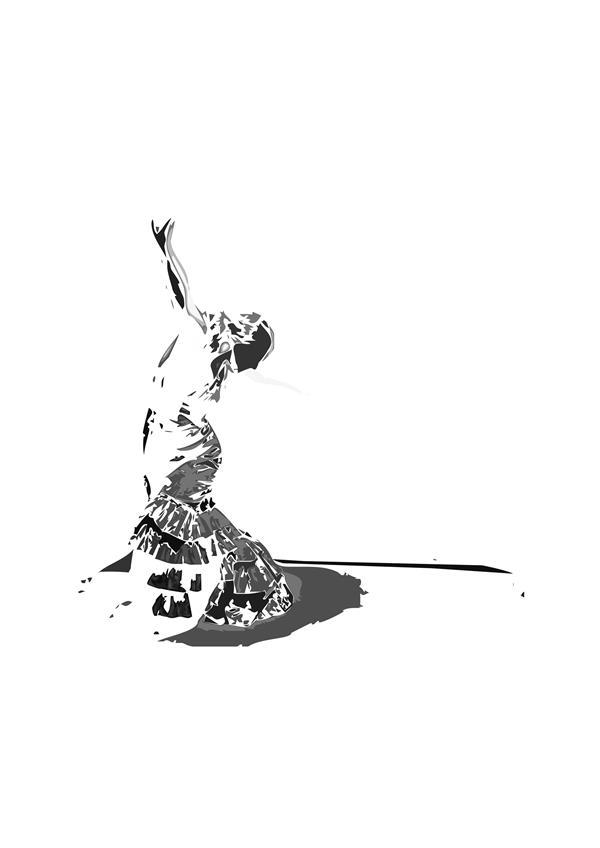 هنر نقاشی و گرافیک محفل نقاشی و گرافیک سام کاویانی سیاه سفید خاکستری ؛ از مجموعه آفتاب  اندازه تابلو ۱۰۰× ۷۰ ترکیبی از چاپ سیلک ، ترافارد و گواش