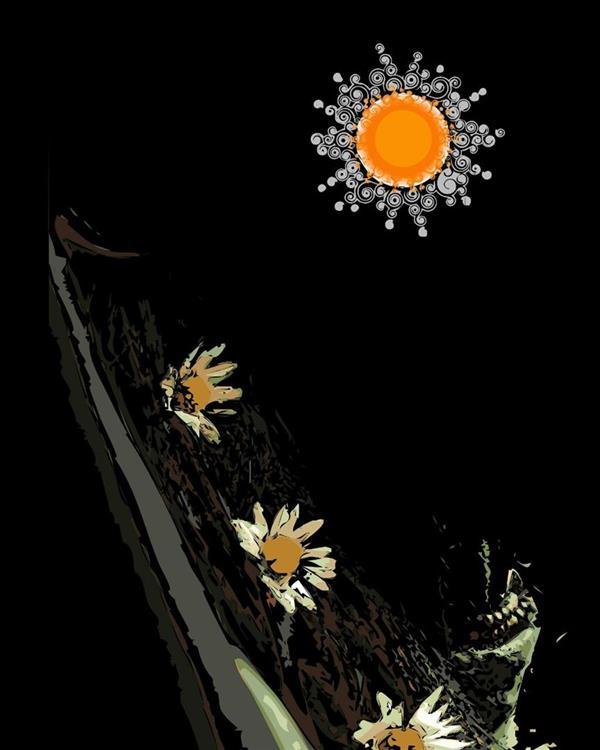 هنر نقاشی و گرافیک محفل نقاشی و گرافیک سام کاویانی مجموعه آفتاب