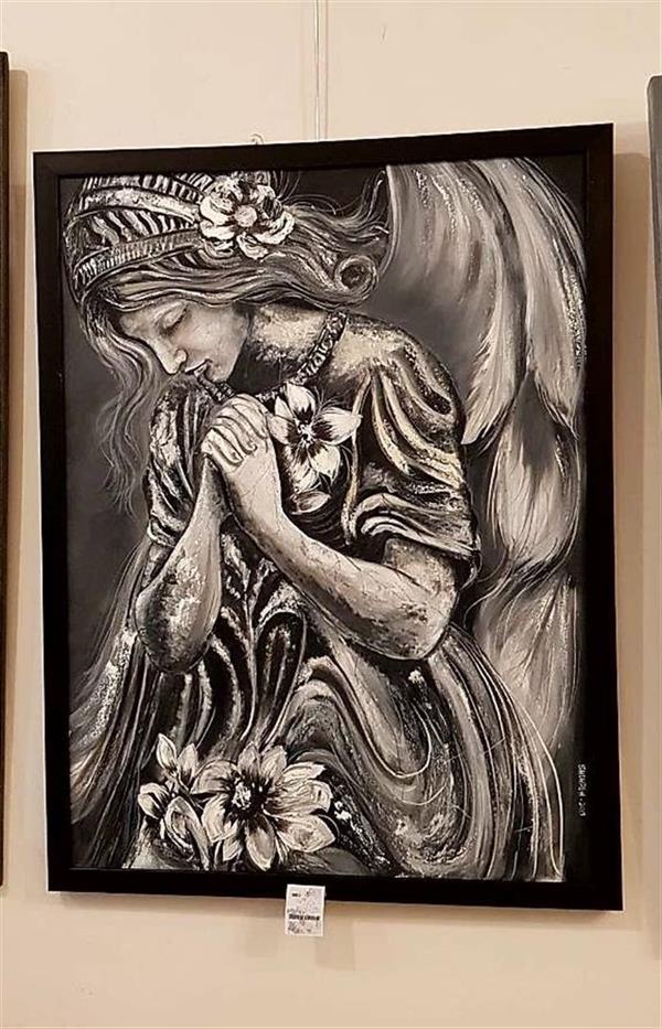 هنر نقاشی و گرافیک محفل نقاشی و گرافیک شهره احمدخوانساری نقاشی شرکت داده شده در نمایشگاه نقاشی رنگ و روغن در استانبول و دریافت گواهی نامه حضور در نمایشگاه استانبول