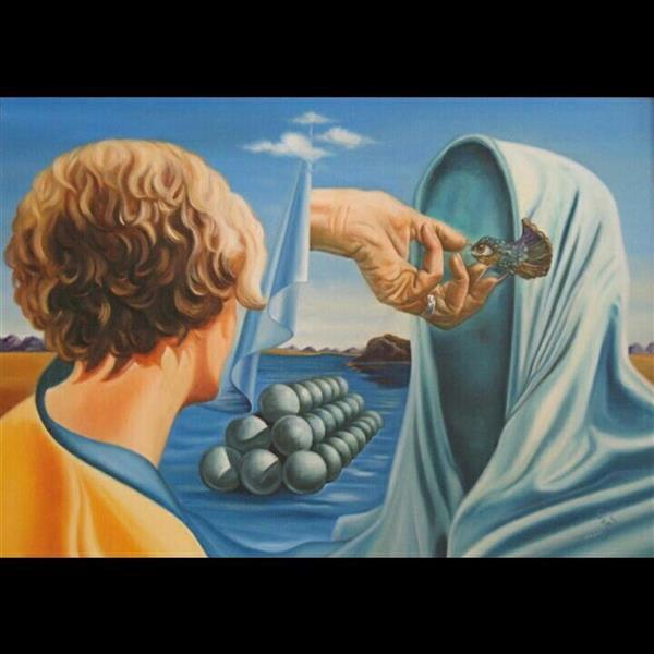 هنر نقاشی و گرافیک محفل نقاشی و گرافیک عباس اسحاقی نقاشی سورئال