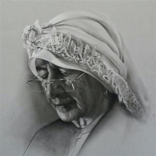هنر نقاشی و گرافیک محفل نقاشی و گرافیک عباس اسحاقی طراحی سیاهقلم