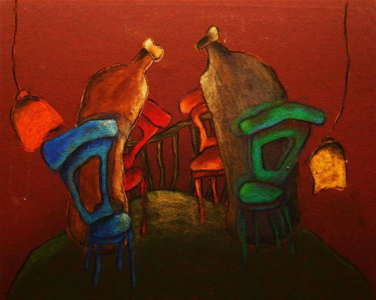هنر نقاشی و گرافیک محفل نقاشی و گرافیک مهلا صفری مداد رنگی