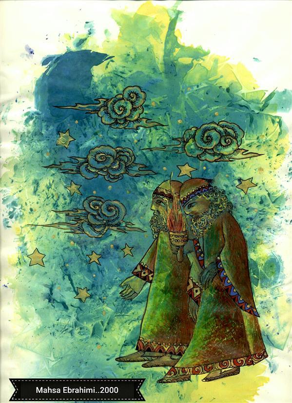 هنر نقاشی و گرافیک محفل نقاشی و گرافیک مهساابراهیمی بدون عنوان....میکس مدیا