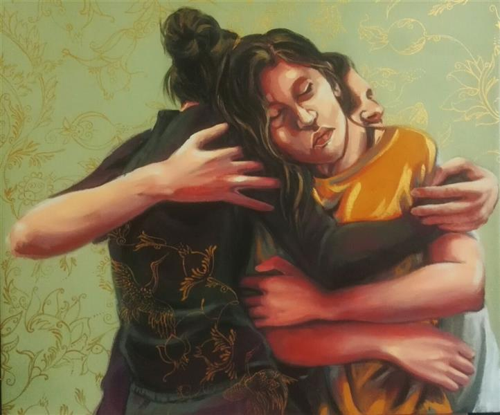هنر نقاشی و گرافیک محفل نقاشی و گرافیک الهام حسین پور عنوان: هیچ نمیگویم ۷۰×۶۰ ابعاد آکرلیک روی بوم
