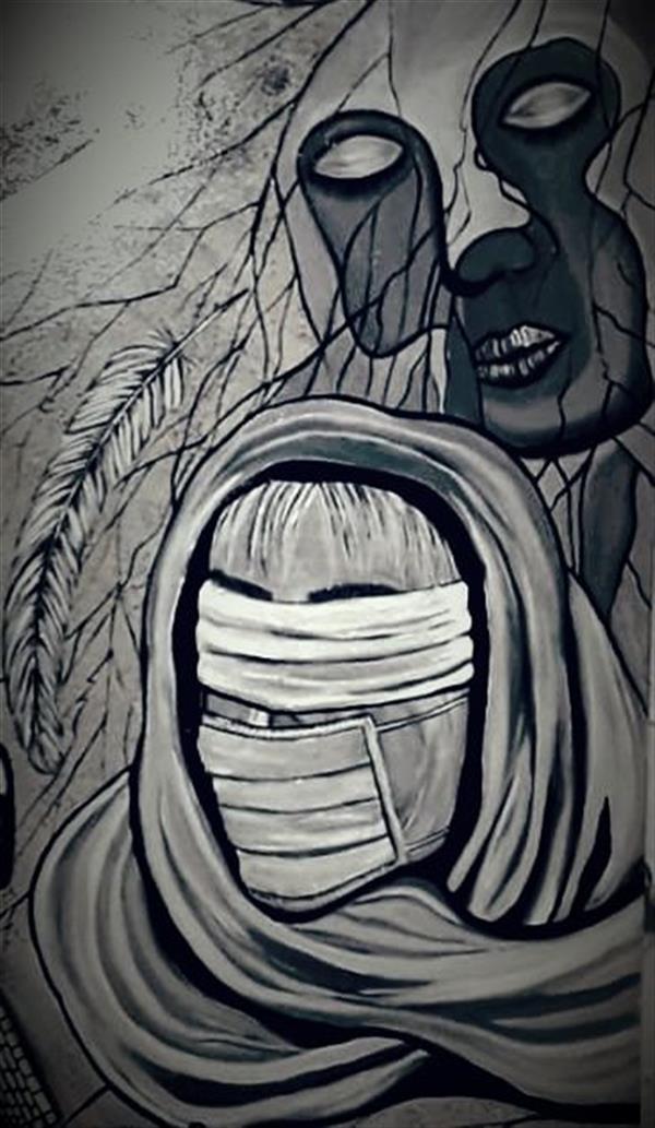 هنر نقاشی و گرافیک محفل نقاشی و گرافیک ساعده همه کش(باران) بخشی از مجموعه (خداحافظ روزهای خاکستری) رنگ روغن