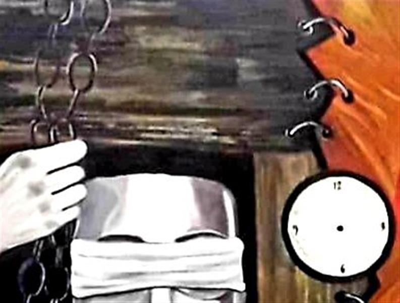 هنر نقاشی و گرافیک محفل نقاشی و گرافیک ساعده همه کش(باران) قسمتی از مجموعهWoman's gray world