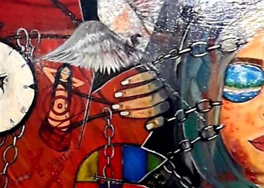 هنر نقاشی و گرافیک محفل نقاشی و گرافیک ساعده همه کش(باران) بخشی از مجموعه خدا حافظ روزهای خاکستری
