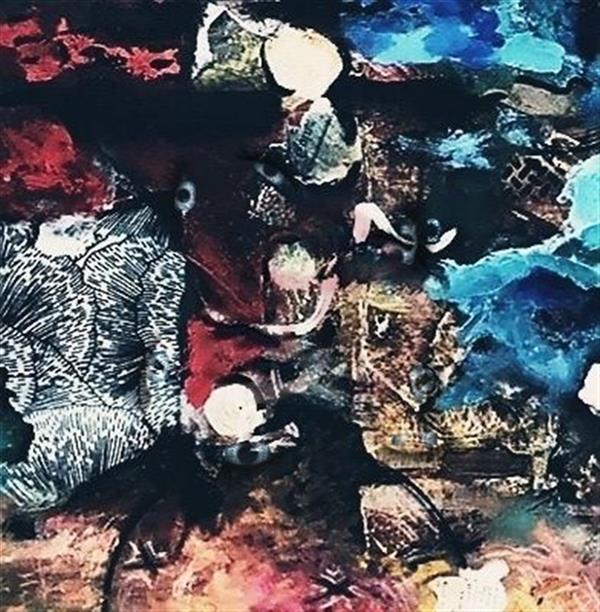 هنر نقاشی و گرافیک محفل نقاشی و گرافیک ساعده همه کش(باران) نام:چشم های آبی ابعاد:۱۰۰×۱۰۰ تکنیک:رنگ روغن
