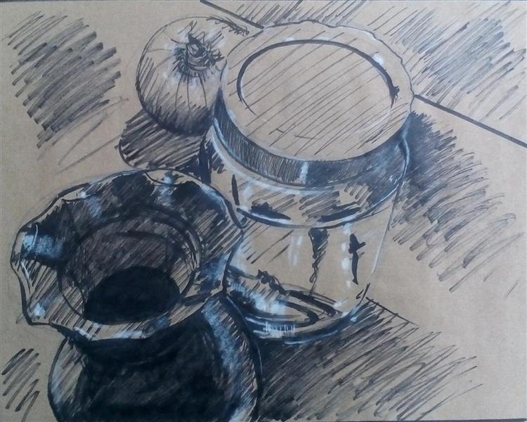 هنر نقاشی و گرافیک محفل نقاشی و گرافیک ابراهیم دلاوران نفاشی ایرانی (گرفت و گیر) مرکب و آب رنگ اندازه اثر ۳۵*۵۰