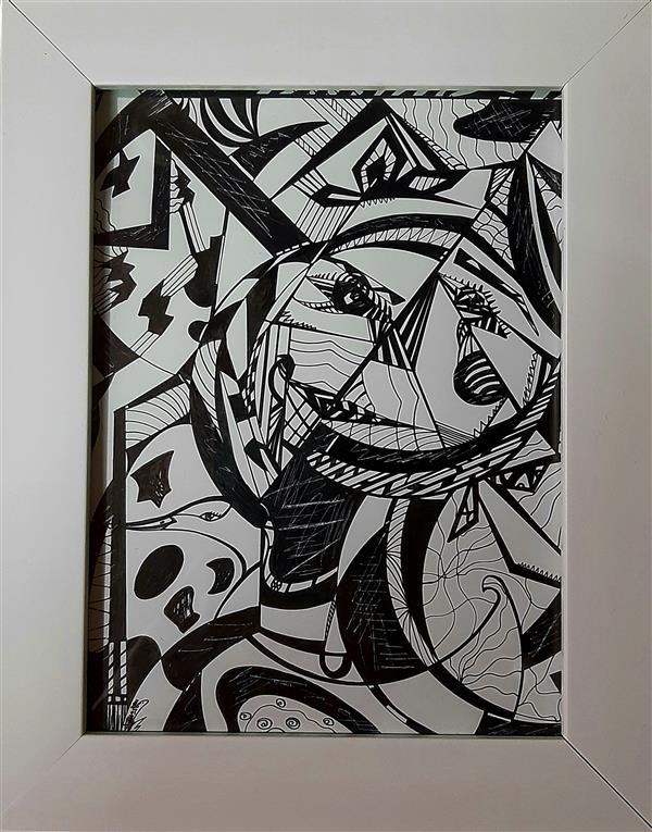 هنر نقاشی و گرافیک محفل نقاشی و گرافیک معصومه شهنازی پور نام اثر: مهرِ درون خالق اثر: #معصومه_شهنازی_پور سال خلق اثر ۱۳۹۹ #کوبیسم#راپید_و_گراف #نقاشی_مدرن #نقاشی #هنر #هنرمندان_گیلانی #هنرمندان_ایرانی #هنر_مدرن