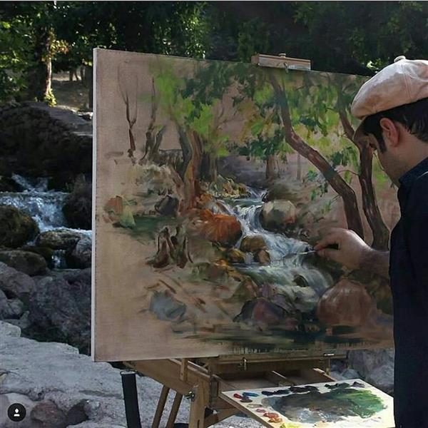 هنر نقاشی و گرافیک محفل نقاشی و گرافیک هدایت نقوی