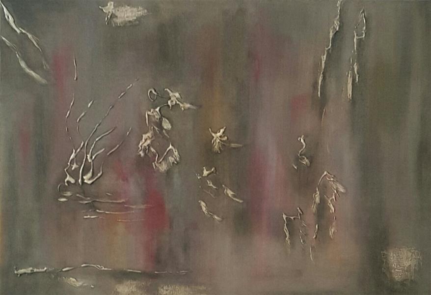 هنر نقاشی و گرافیک محفل نقاشی و گرافیک محسن نراقی 50x70cm mix media