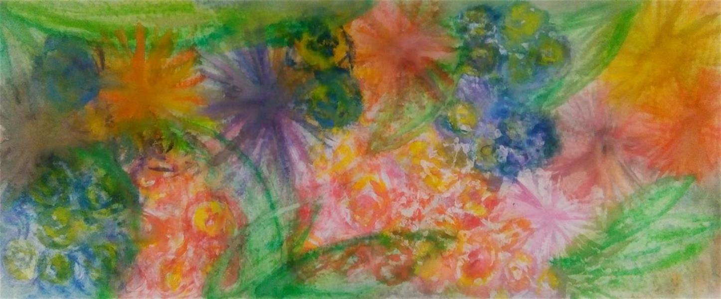 هنر نقاشی و گرافیک محفل نقاشی و گرافیک ندا گودرز نقاشی با آبرنگ در ابعاد 50 در  120 سانتیمتر