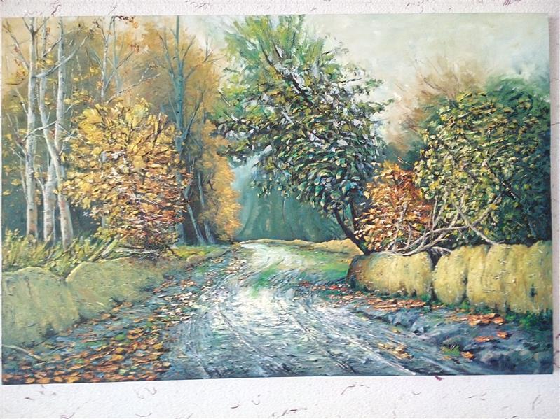 هنر نقاشی و گرافیک محفل نقاشی و گرافیک قیطاسیA-E رنگ و روغن روی بوم 80×60 کار کپی