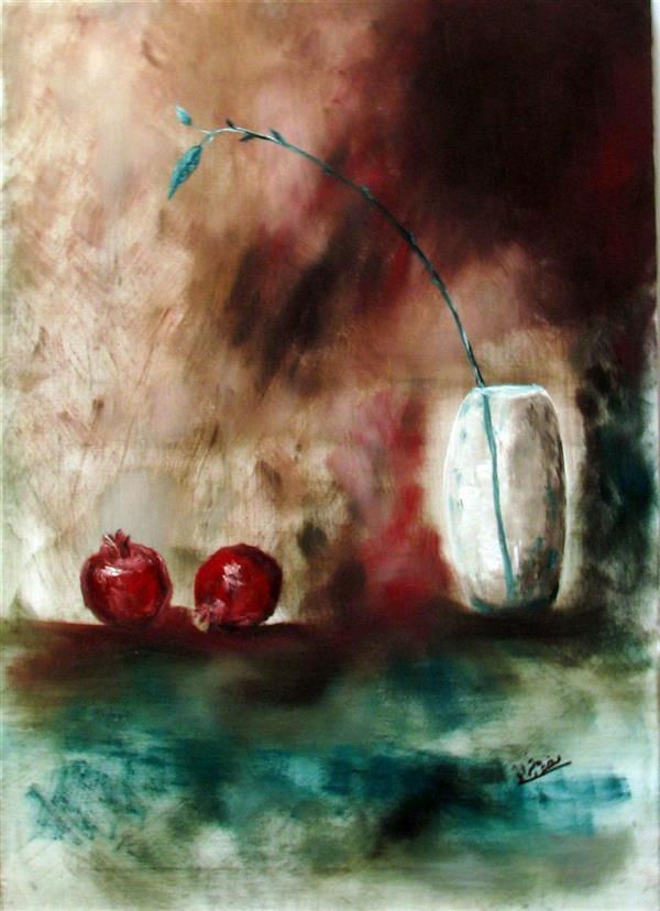 هنر نقاشی و گرافیک محفل نقاشی و گرافیک منصوره اشرافی رنگ و روغن بر بوم ۵۰&۷۰