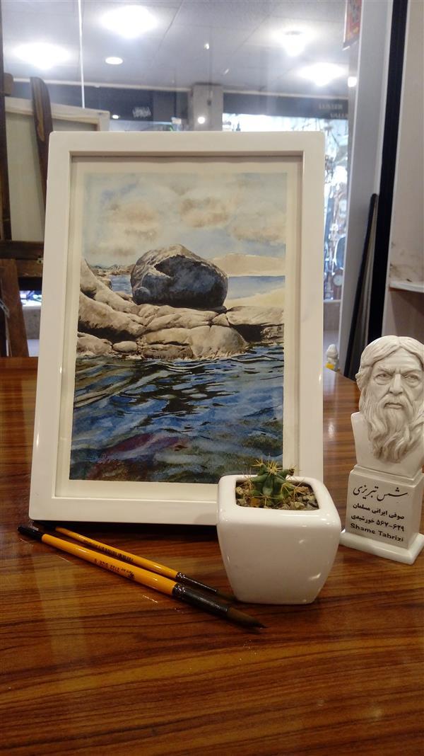 هنر نقاشی و گرافیک محفل نقاشی و گرافیک سید جمال حسینی #آبرنگ #هدیه #هدیه_خاص #watercolor سایز 20×25