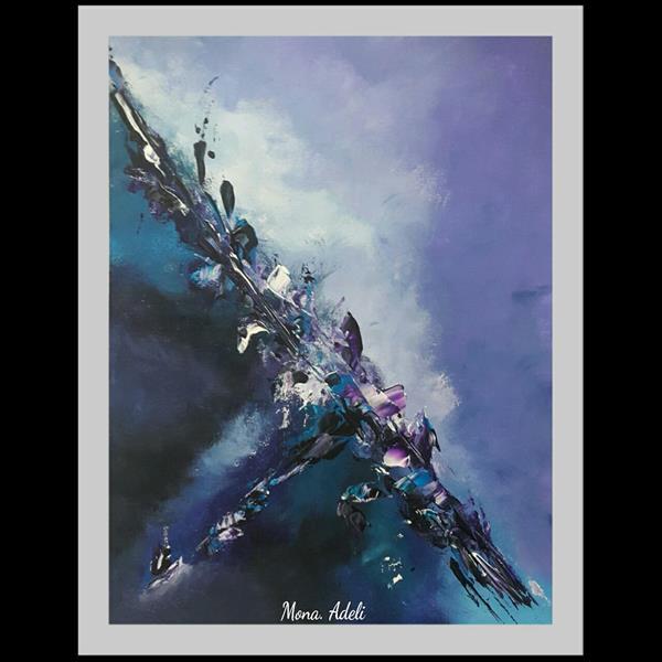 هنر نقاشی و گرافیک محفل نقاشی و گرافیک مونا-عادلی #اکرلیک اورجینال اثر #مونا_عادلی  سایز ۳۰*۴۰