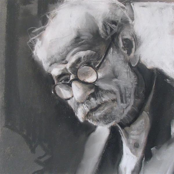 هنر نقاشی و گرافیک محفل نقاشی و گرافیک مجید غزنوی 🔴 #علامه_دهخدا(ادیب_شاعر) ۳۵×۴۵ #مداد_پاستل  #نقاش:مجید غزنوی 🔴 #professor_Dehkhoda(Literator) 35×45cm #pencil_pastel #painter:Majid Ghaznavi @majidghaznaviart 🔴 @majidghaznavikhatart 🔴
