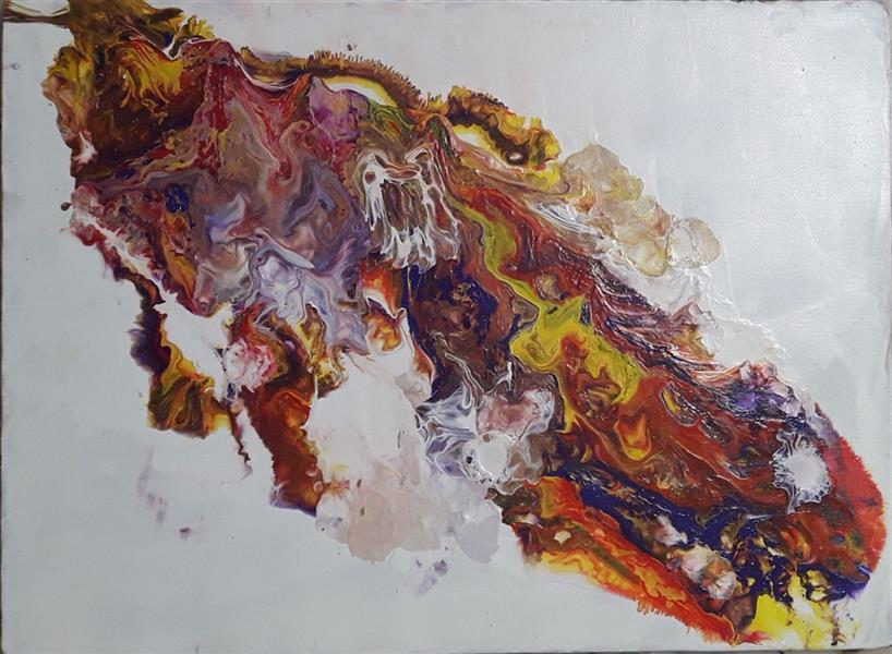 هنر نقاشی و گرافیک محفل نقاشی و گرافیک مجید غزنوی 🔴 #آبستره_از_مجموعه_برنگ_او #آکرولیک_روی_بوم #نقاش:مجیدغزنوی 🔴 #Abstract_In_His_Color_Colection #Acrolic_on_convas #painter: Majid Ghaznavi @majidghaznaviart 🔴 @majidghaznavikhatart
