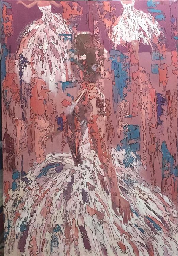 هنر نقاشی و گرافیک محفل نقاشی و گرافیک فرزانه ابوالقاسمی اثر #نقاشی فرزانه ابوالقاسمی . در بخش نقاشی وبسایت 100هنر.