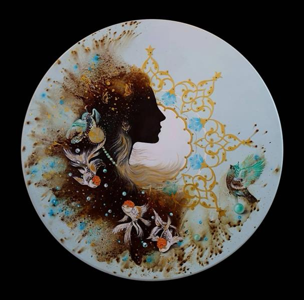 هنر نقاشی و گرافیک محفل نقاشی و گرافیک حسین هلالی #نقاشی با #قهوه