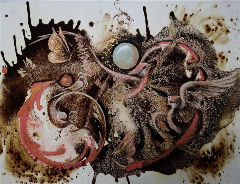 هنر نقاشی و گرافیک محفل نقاشی و گرافیک حسین هلالی #نقاشی#با #قهوه #حسین_هلالی