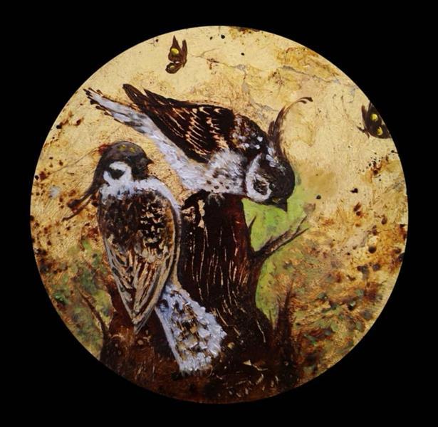 هنر نقاشی و گرافیک محفل نقاشی و گرافیک حسین هلالی نقاشی با#قهوه