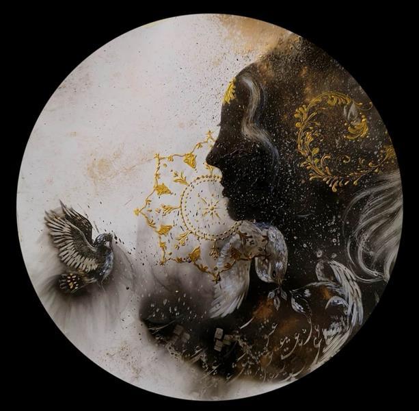 هنر نقاشی و گرافیک محفل نقاشی و گرافیک حسین هلالی #نقاشی با #شمع