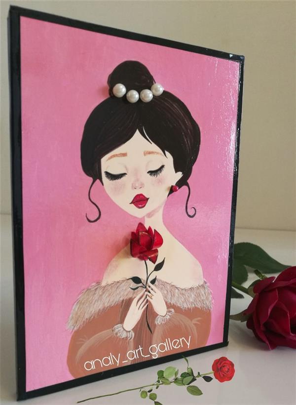 هنر نقاشی و گرافیک محفل نقاشی و گرافیک آرمیتا حسنی تابلو دکوراتیو مدرن #برجسته سایز ۱۳*۱۸ #ضدآب
