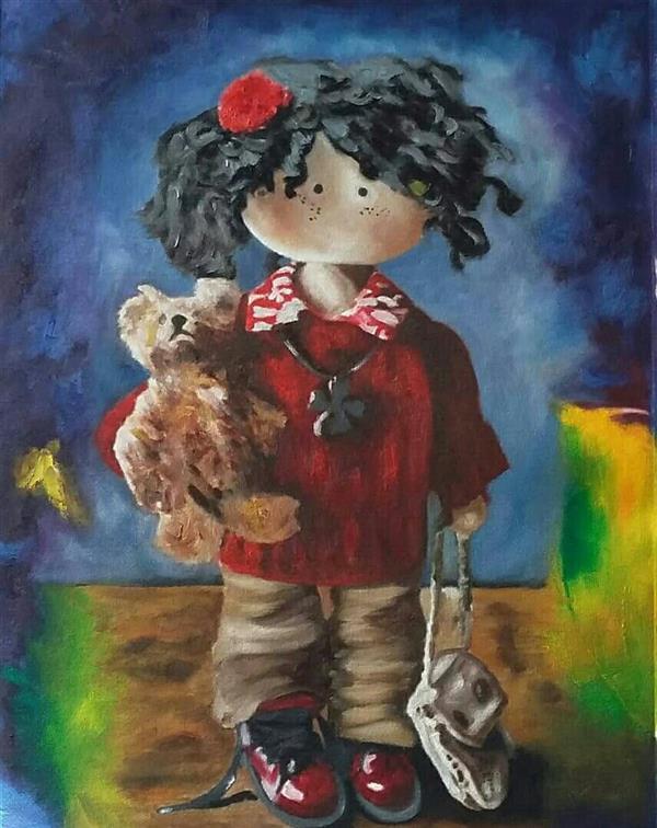 هنر نقاشی و گرافیک محفل نقاشی و گرافیک Pooyan sobhani #pooyan sobhani 30*40 #original  #oil colour in canvas