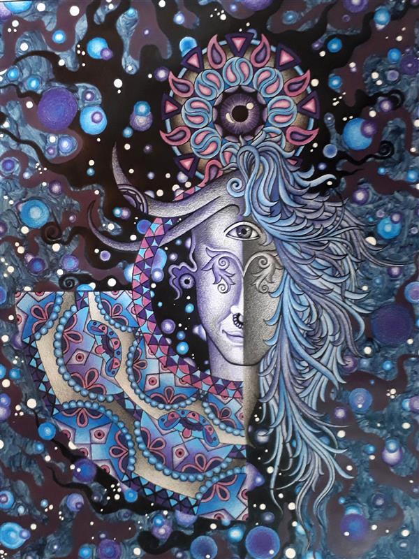 هنر نقاشی و گرافیک محفل نقاشی و گرافیک Siavash vatani کار در ابعاد ۴۴/۳۳ روی مقوا اجرا شده.تکنیک:ترکیب مواد.تاریخ خلق اثر :۱۳۹۶