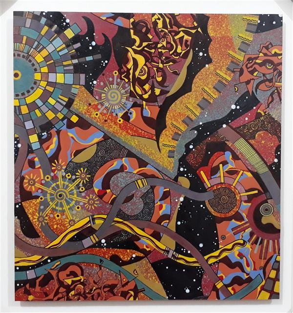 هنر نقاشی و گرافیک محفل نقاشی و گرافیک Siavash vatani تاریخ خلق اثر:۱۳۹۶. اثر با سبک آبستره در ابعاد ۵۵/۵۰ روی مقوا با تکنیک ترکیب مواد اجرا شده.