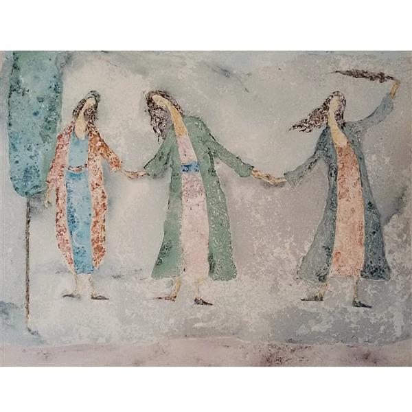 هنر نقاشی و گرافیک محفل نقاشی و گرافیک حسین اسماعیلی #نقاشی#ایرانی#مدرن#هنر 60*80  -   میکس مدیا -#حسین_اسماعیلی