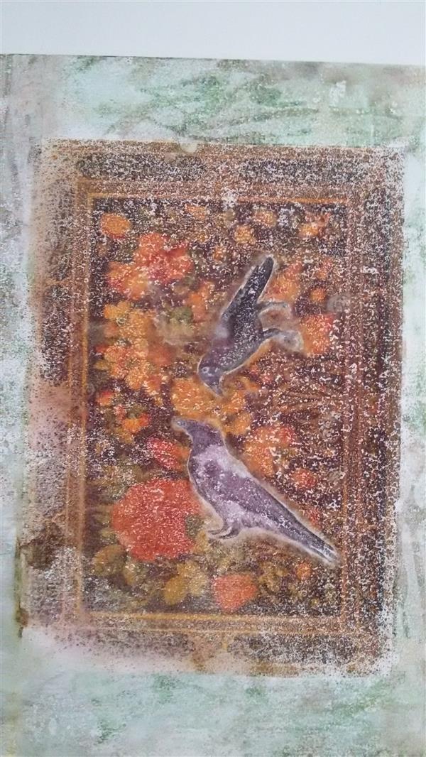 هنر نقاشی و گرافیک محفل نقاشی و گرافیک حسین اسماعیلی # میکس مدیا#حسین اسماعیلی#بدون عنوان 1398