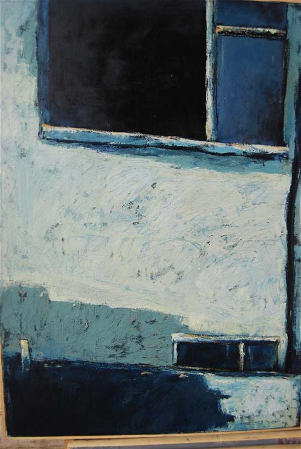 هنر نقاشی و گرافیک محفل نقاشی و گرافیک حسین اسماعیلی حسین اسماعیلی#انتزاع#پنجره #نقاشی#رنگ روغن/50*70