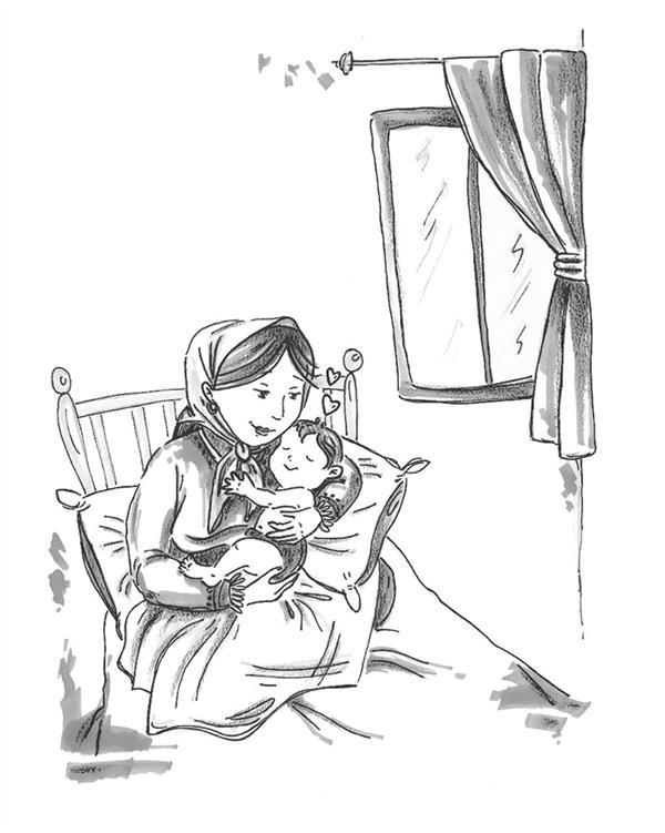 """هنر نقاشی و گرافیک محفل نقاشی و گرافیک مرضیه امینی یک فریم از کتاب """"مادران مقتدر؛ پسران قوی"""" #تصویرگر: مرضیه امینی (تکنیک:ماژیک و روان نویس؛ قطع رقعی) مدیر هنری و ویراستار: معصومه ی جمالی مهر انتشارات آمیس"""