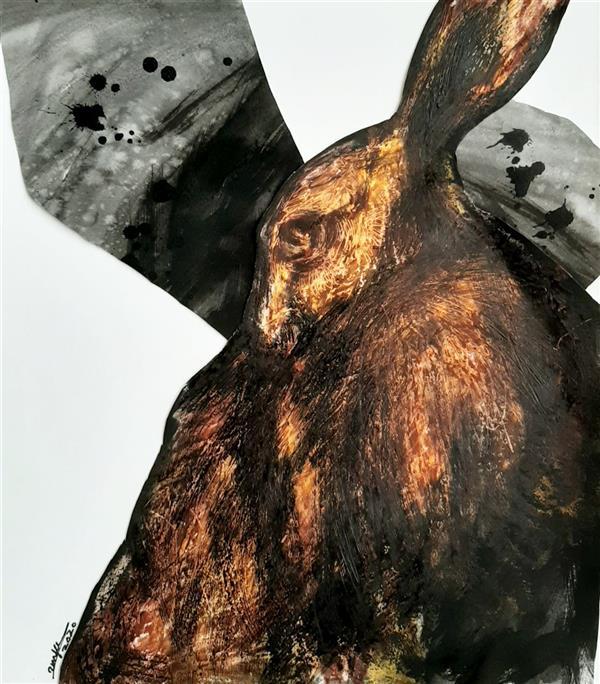هنر نقاشی و گرافیک محفل نقاشی و گرافیک 2nya مداد شمعی و مرکب