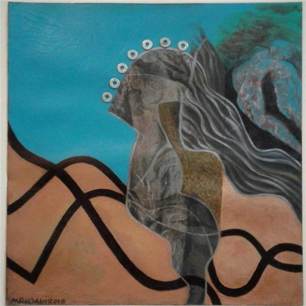 هنر نقاشی و گرافیک محفل نقاشی و گرافیک صدیقه(بهار)مهدوی نقاشی روی مقوا،تکنیک:ترکیب مواد(اکریلیک،ماژیک،مداد،کلاژ)،2016، نام هنرمند:صدیقه مهدوی
