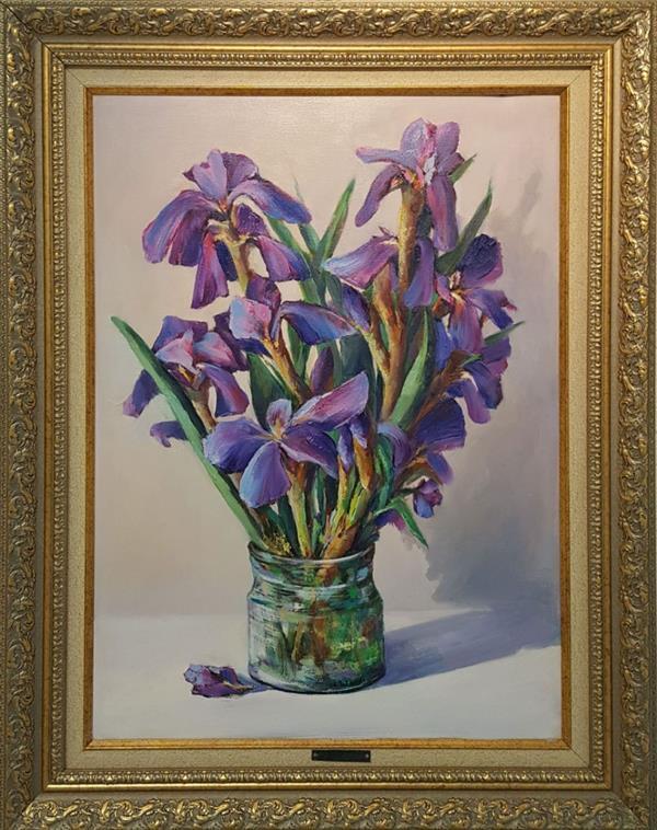 هنر نقاشی و گرافیک محفل نقاشی و گرافیک Zhila Ebadi پیشواز بهار ابعاد : ۶۰×۴۰ قیمت : ۸۰۰۰۰۰ تومان