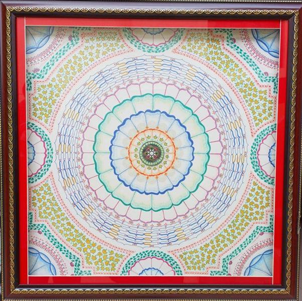 هنر نقاشی و گرافیک محفل نقاشی و گرافیک RAJNISH GARG Drawing sheet with pencil colors and different pens.