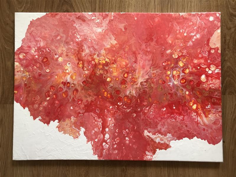 هنر نقاشی و گرافیک محفل نقاشی و گرافیک Julia Szymańska #acrylic #abstraction #art #paint #expression #abstract