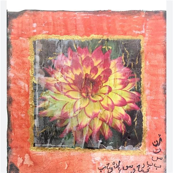 هنر نقاشی و گرافیک محفل نقاشی و گرافیک Fariha Munir  Decoupage artwork framed