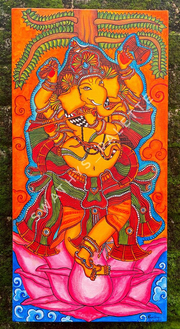 هنر نقاشی و گرافیک محفل نقاشی و گرافیک Swathy Prasad Lord Ganesha in Hindu mythology is considered as the remover of obstacles.