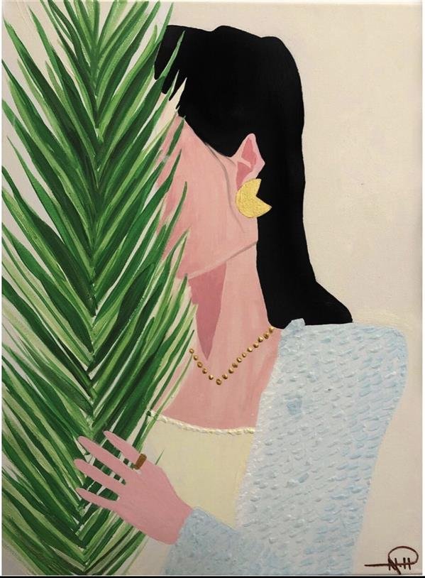 هنر نقاشی و گرافیک محفل نقاشی و گرافیک Nada alhorani #acrylic #abstractpainting