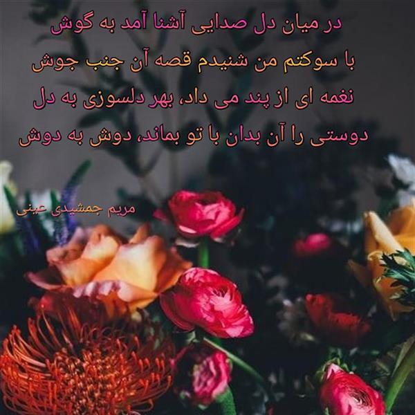 هنر شعر و داستان محفل شعر و داستان مریم جمشیدی عینی #دوستی مریم جمشیدی عینی
