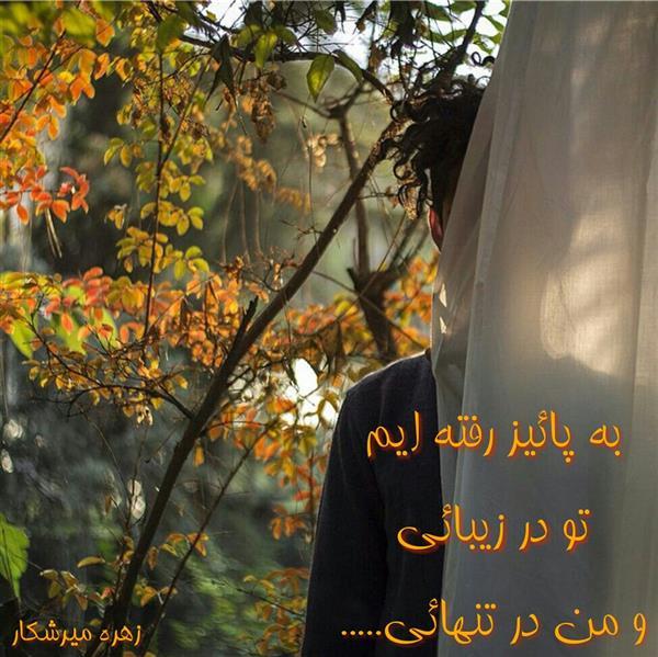 هنر شعر و داستان محفل شعر و داستان زهره میرشکار #پائیز#زهره_میرشکار