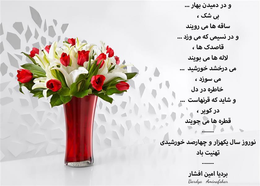 هنر شعر و داستان محفل شعر و داستان بردیا امین افشار #نوروز #تبریک_نوروز #تبریک_نوروز_1400