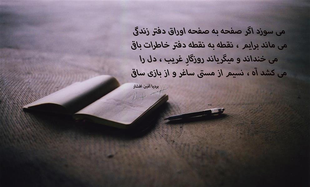 هنر شعر و داستان محفل شعر و داستان بردیا امین افشار خاطرات
