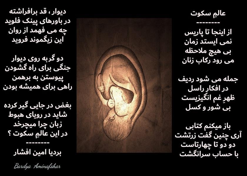 هنر شعر و داستان محفل شعر و داستان بردیا امین افشار #عالم_سکوت #سپید_چهار_پاره #شعر_سورئال #بردیا #امین_افشار