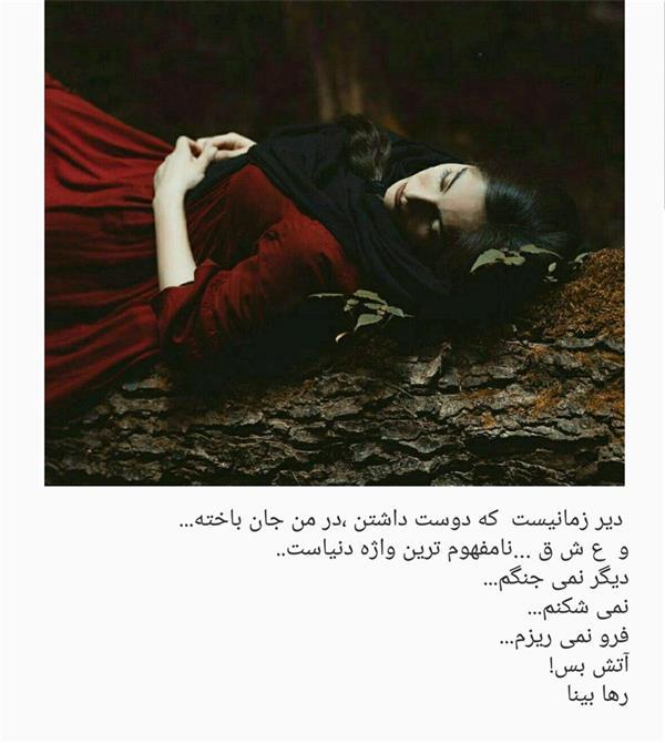 هنر شعر و داستان محفل شعر و داستان رها بینا آتش بس
